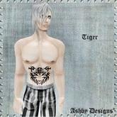 Tattoo ~ Tiger Tattoo Lower Body ~ PROMO