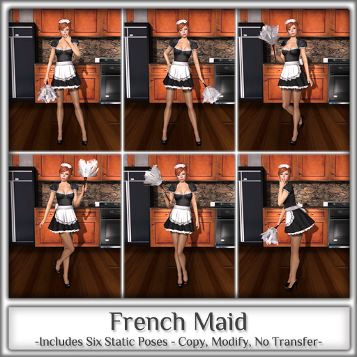 Magnifique - French Maid (Single Pose)