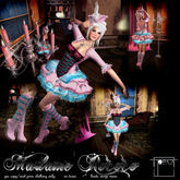 Topaz Square~Madame Rococo~Pink Outfit & Boots