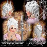 "Topaz Square~Madame Rococo~the hair in ""Powdered White"""