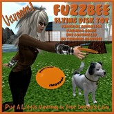 Vavoom! Fuzzbee Toy (Boxed) - Toys and Accessories for Virtual Kennel Club (VKC®) Pets - No Training Required