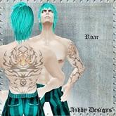 Tattoo ~ Roar Mens Upper Body ~ PROMO