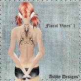 Tattoo ~ Floral Vines V1 Upper Body ~ PROMO
