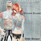 Tattoo ~ Oriental Dreams Back Tattoo ~ PROMO