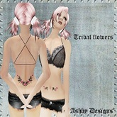 Tattoo ~ Tribal Rose Cute Ladies ~ PROMO