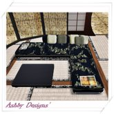 Japanese couch and table ~ PROMO