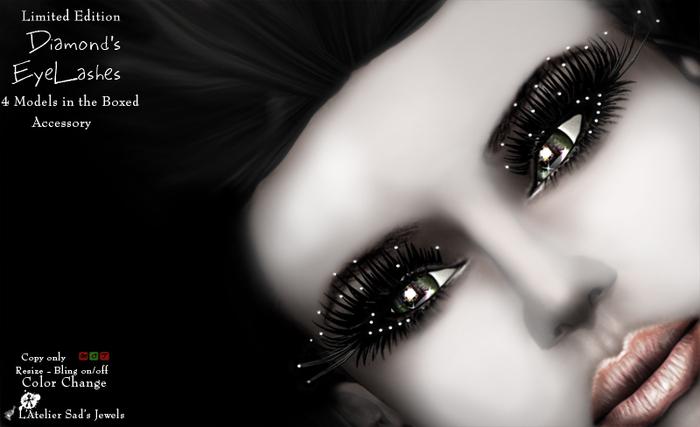 Diamonds EyeLashes (Boxed) by sad*