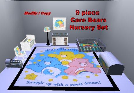 Care Bears Nursery Room