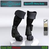 "CyberCrystall - Furry Boots ""Wanderer"""