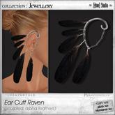 [ glow ] studio - Ear Cuff Raven