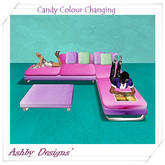 Candy Couch/Sofa and Coffee Table ~ PROMO