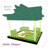 Japanese Gazebo Green