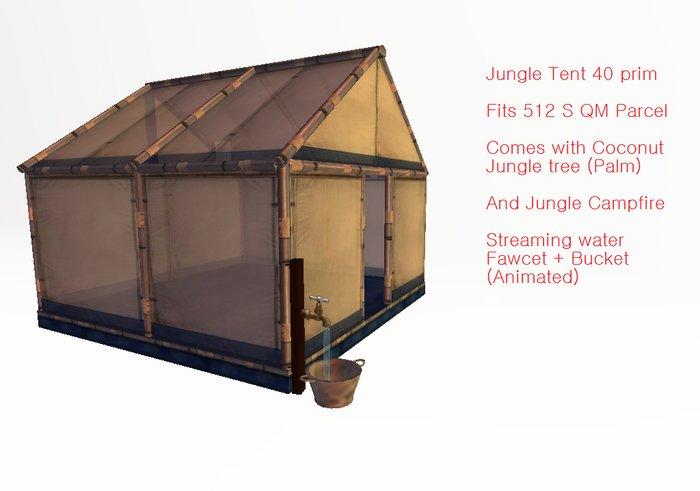 Jungle Tent - tagfantasy