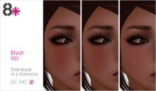 8+ //  Makeup - Blush 001