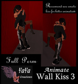 Wall Kiss 3 Full Perm