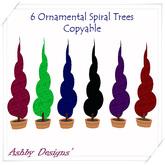 Ornamenta Funkyl Spiral Trees ~ Copyable & PROMO