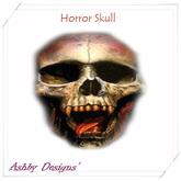 Horror Skull Head