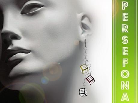 Persefona Fashion Three Earrings