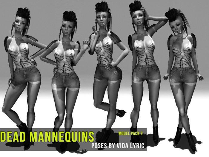 Dead Mannequins - Model Pose Pack 2