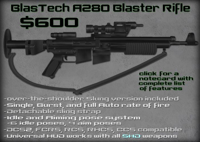Second Hand Droids - BlasTech A280 Blaster Rifle v2.01