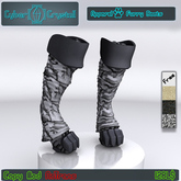 """CyberCrystall - Furry Boots """"Warmth"""""""