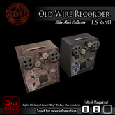 Old Wire Recorder