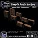 Simple Rustic Lockers
