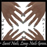 Long-nails White 5, Butterfly Collection