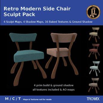 Trowix - Retro Side Chair Sculpt Pack