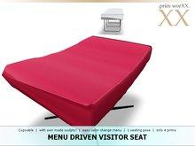 .prim worXX. menu driven visitor seat