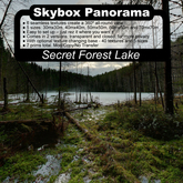 Panoramic Skybox Privacy Screens - Secret Forest Lake