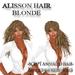 """Woman hair """" Alisson """" blonde hair 2in1 + Animation NEW woman hair girl hair female hair culy l"""
