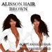 "EdelStore woman hair "" Alisson "" brown 2in1 + Animation NEW ponytail hair girl hair female hair curly BRAND NEW NEW"
