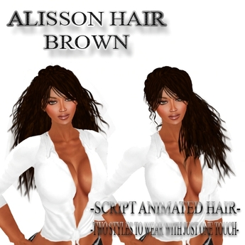 """EdelStore woman hair """" Alisson """" brown 2in1 + Animation NEW ponytail hair girl hair female hair curly BRAND NEW NEW"""
