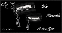 Special price *** Just You Jewels *** DUO Bracelets I love You