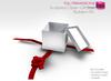 Full Perm Sculpted Opened  Gift Box - Builder's Kit Set