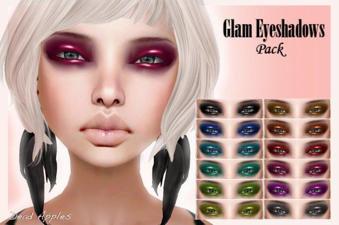 {D.A} Glam Eyeshadows