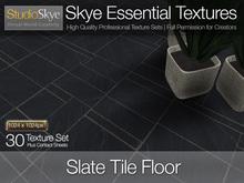 Promo! Slate  Floor Tiles - Skye Essential - 30 Full Perms Textures