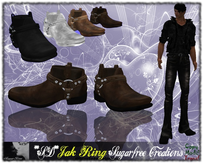 **SD**-Jak Ring Camperos Boots shoes Stiletto Full Options