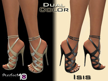 """Isis Leather Heels """"Cream"""" from *Purrfect 10* with free Skin Toner"""