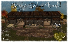 .:DooDaddles by D:. (Dynla's DELUXE Barn) HORSE / BARN / STABLES