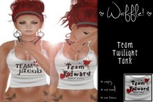 Waffle! Twilight - Team Edward Tank