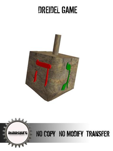 Mindshift - Dreidel Game