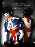 PIXLIGHTS FACTORY British hoodie