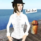 ::LPF::white lace shirt