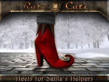 .:[ RatzCatz ]:. Heels for Santa's Elfs - red