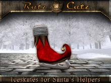 .:[ RatzCatz ]:. Iceskate Shoes for Santa's Helpers - red