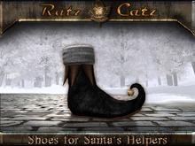 .:[ RatzCatz ]:. Shoes for Santa's Elfs - black