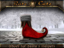 .:[ RatzCatz ]:. Shoes for Santa's Elfs - red