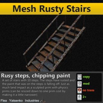 [FYI] 100% Mesh Rusty Stairs